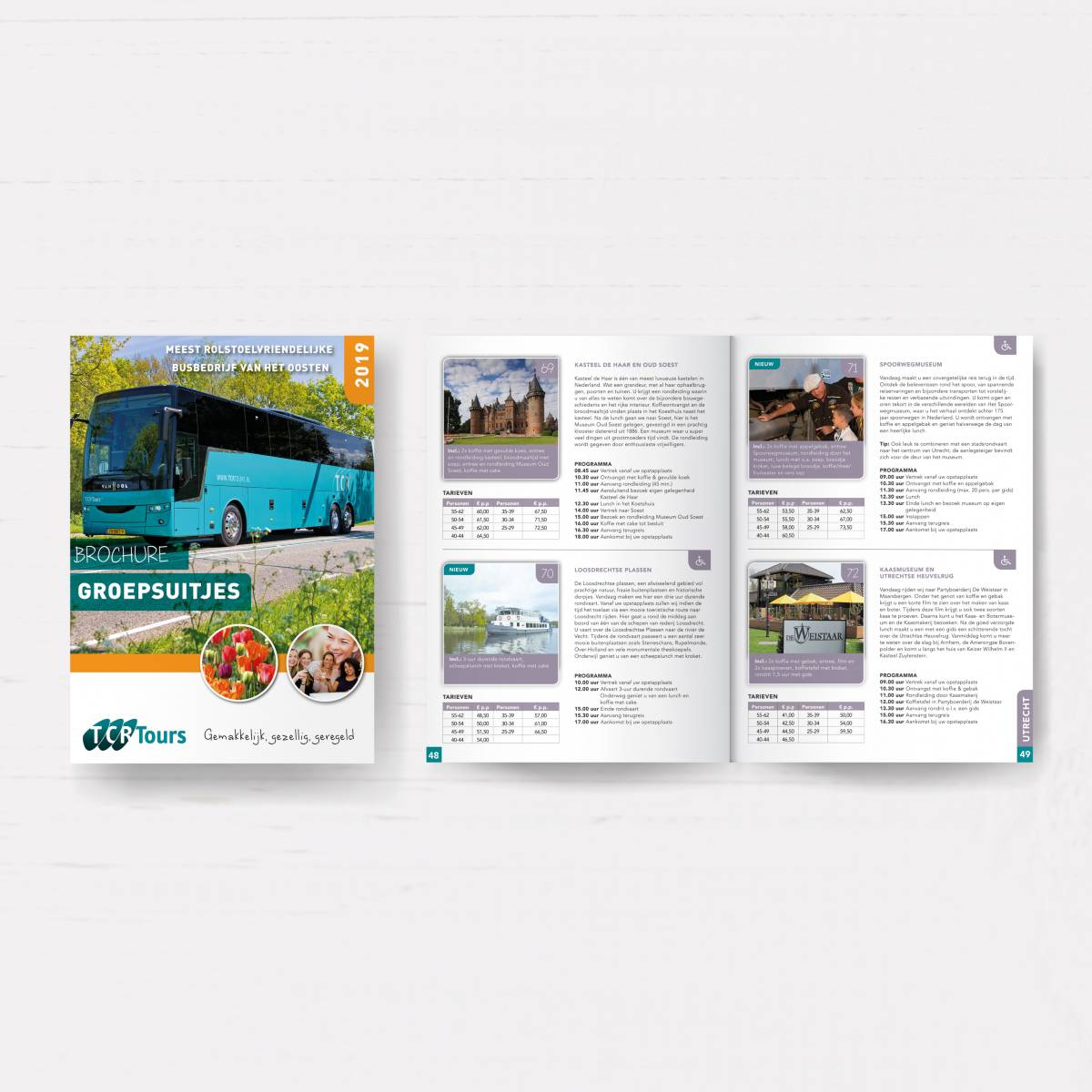Brochure TCR Tours