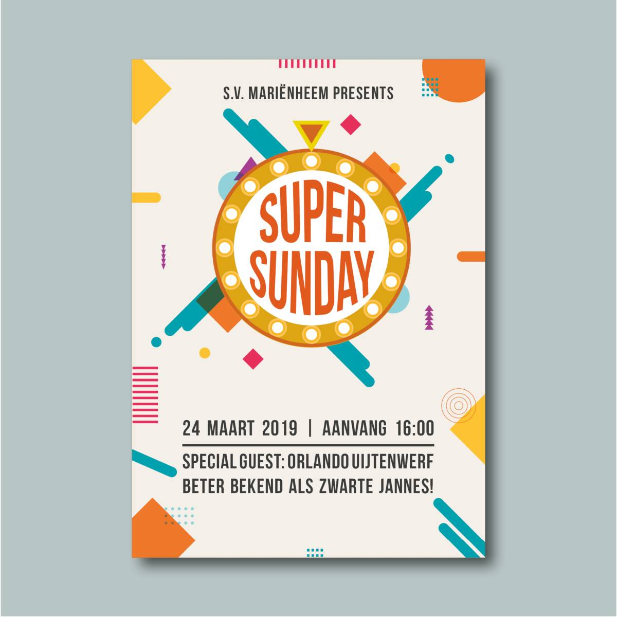 Poster Super Sunday